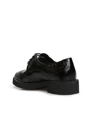 Divarese Divarese 5025027 Parlak Dokulu Kadın Ayakkabı Siyah